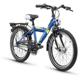 s'cool XYlite 20 3-S - Vélo enfant - Steel bleu